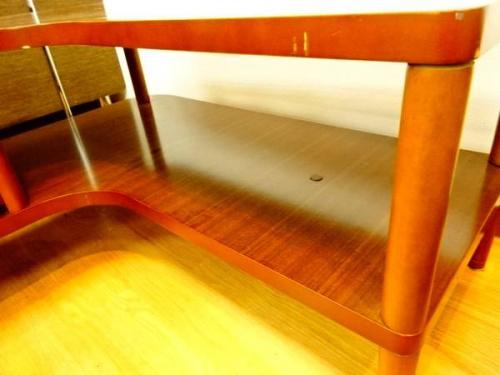 神戸 中古 家具 買取のカリモク コーナーテーブル カリモク60 ムニエテ