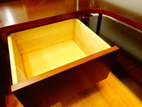 カリモク コーナーテーブル カリモク60 ムニエテの関西