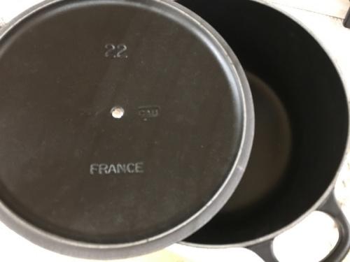 洋食器の両手鍋