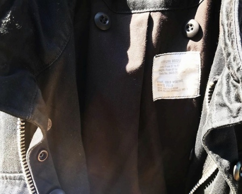 M65 フィールドジャケットのボア