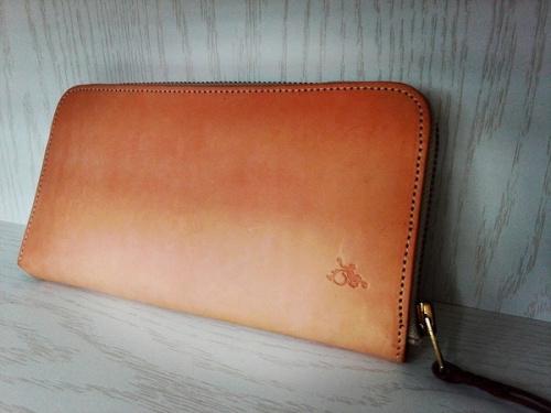 革蛸謹製の財布