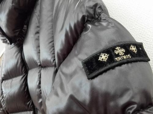 ダウンコートのダウンジャケット