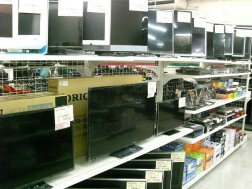 液晶テレビのレコーダー