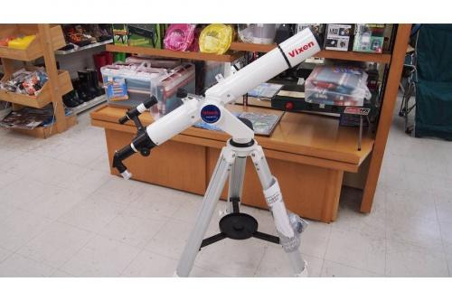 アウトドアの天体望遠鏡