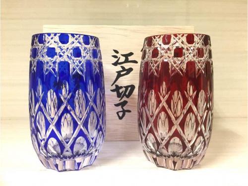 江戸切子のガラス