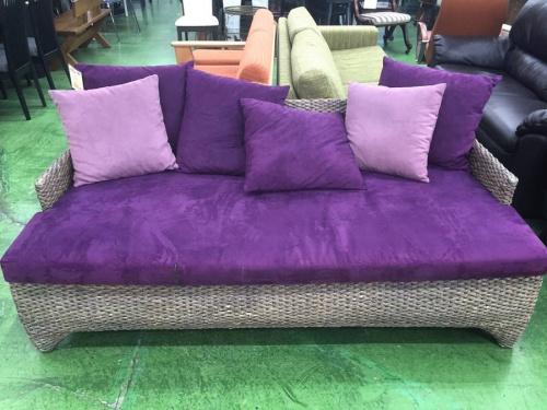 ラタンのソファー