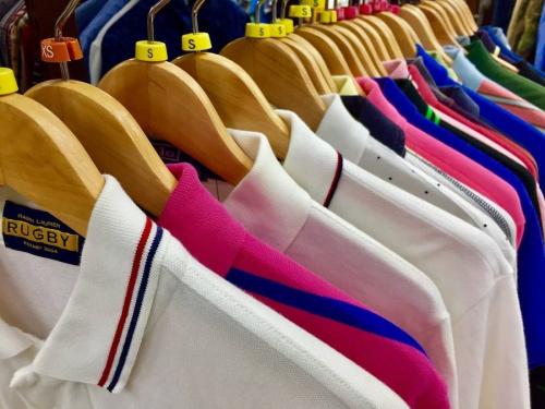 メンズファッションのポロシャツ