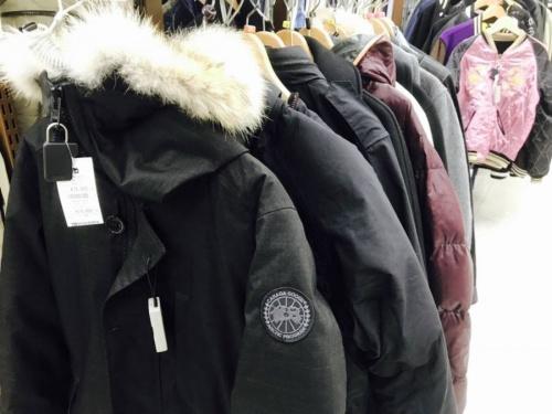 コートの冬物衣類