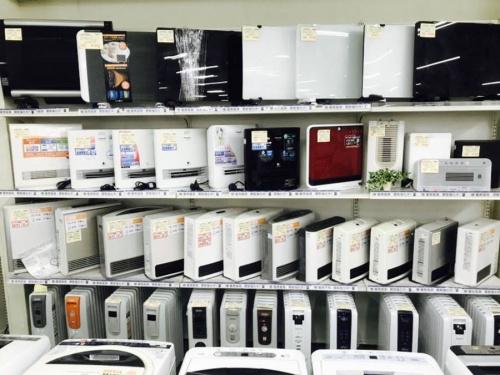 暖房家電のヒーター