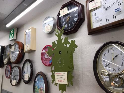 掛時計の家具・インテリア