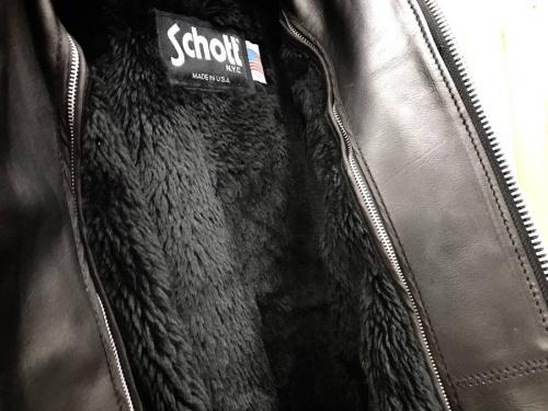 Shottのライダースジャケット