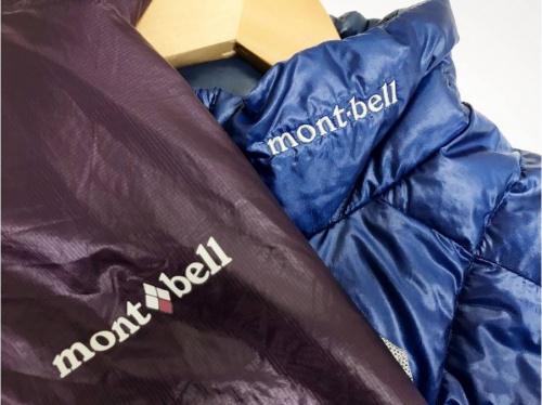 アウトドア用品のmont-bell