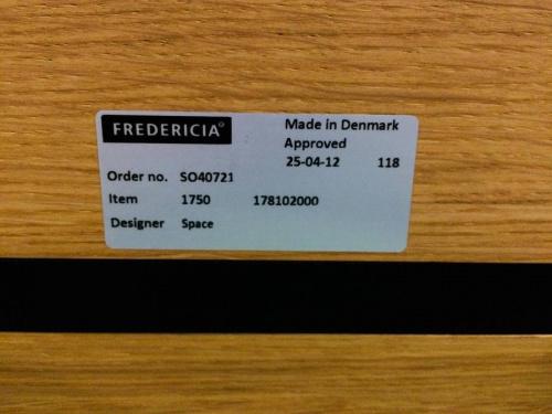 フレデリシアのFREDERICIA