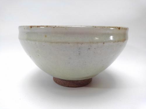 和食器 茶碗の白勢栄悦 辰砂紅