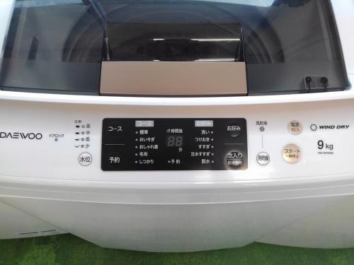 洗濯機のDAEWOO・大宇