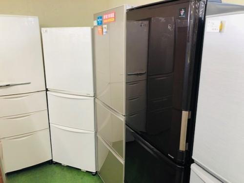3ドア冷蔵庫のSHARP・シャープ