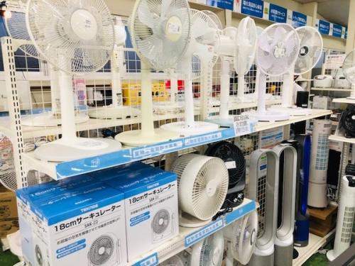 扇風機の未使用品
