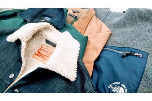 メンズファッションの秋冬物衣類 洋服 中古 買取 処分 リサイクル