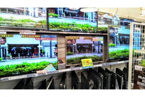 SHARP SONY TOSHIBAの大型テレビ