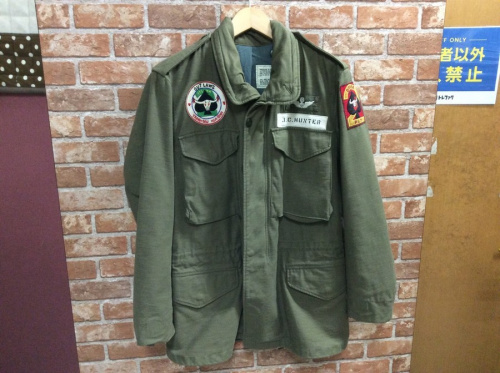 BUZZ RICKSON'SのM-65ジャケット