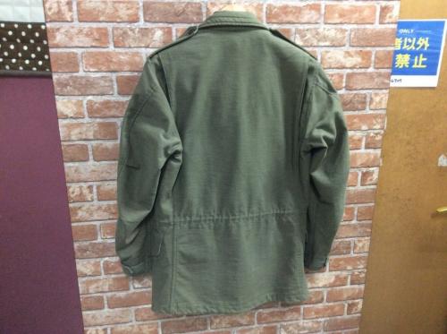 M-65ジャケットのフィールドジャケット