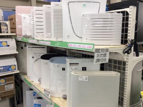 空気清浄機のエアコン