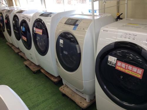 生活家電の洗濯機 洗濯乾燥機 ドラム式