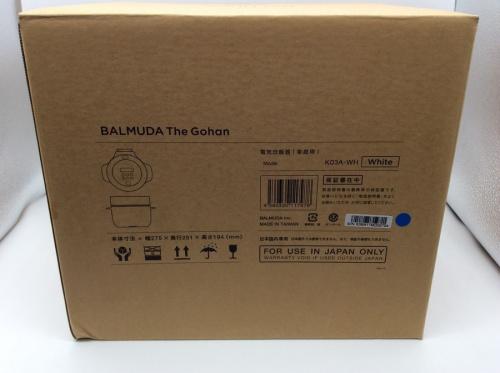 BALMUDA(バルミューダ)のK03A-WH