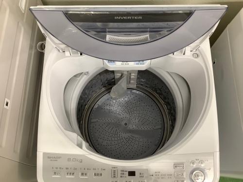 全自動洗濯機のSHARP シャープ