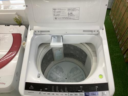 全自動洗濯機のHITACHI ヒタチ 日立