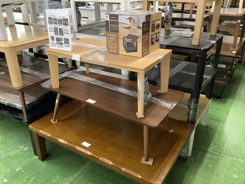 暖房器具のテーブル