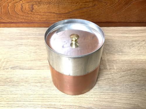 銅製茶筒の開化堂