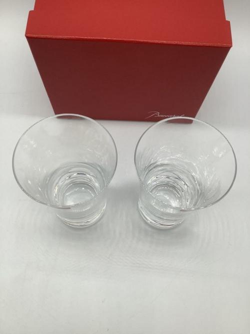 バカラのペアグラス