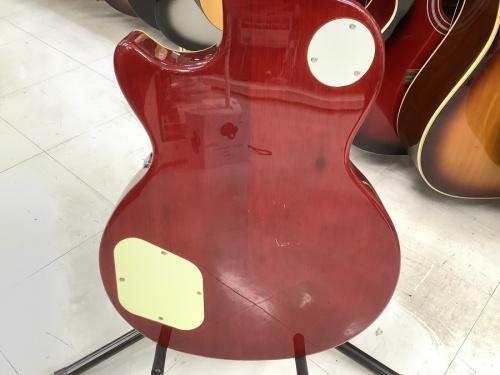 エレキギターのレスポールタイプ