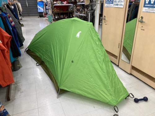テントのmont-bell(モンベル)