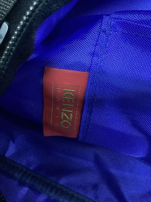ケンゾーの刺繍ボストンバッグ