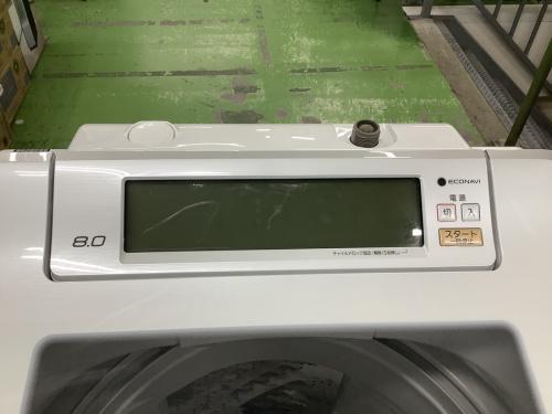 縦型洗濯機のPanasonic