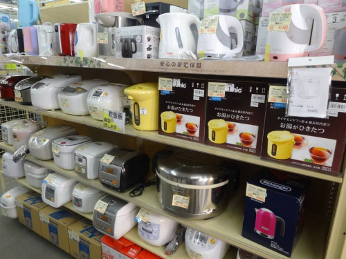 炊飯器の電気圧力鍋