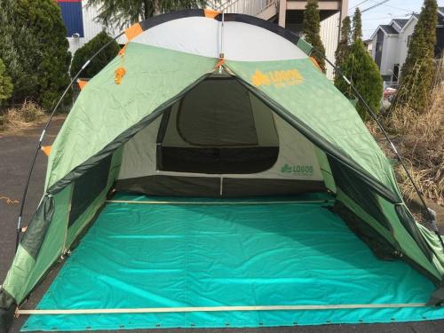 ロゴスのテント