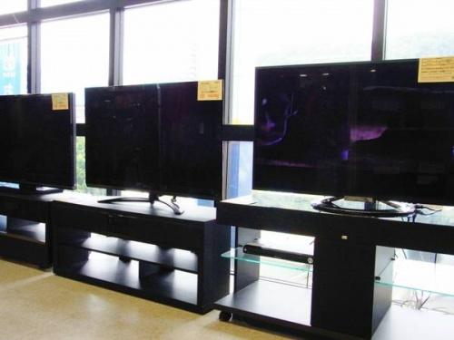 デジタル家電のテレビ
