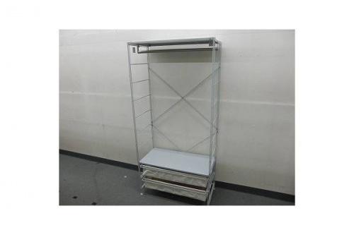 家具・インテリアのスチールユニットシェルフ