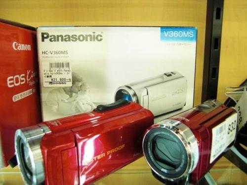 デジタルカメラのビデオカメラ