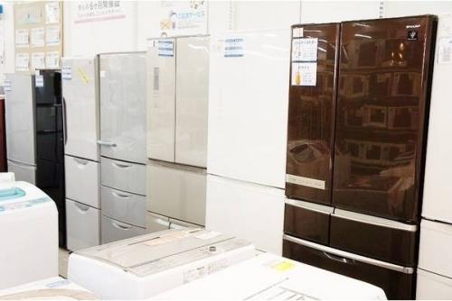 冷蔵庫の新入荷