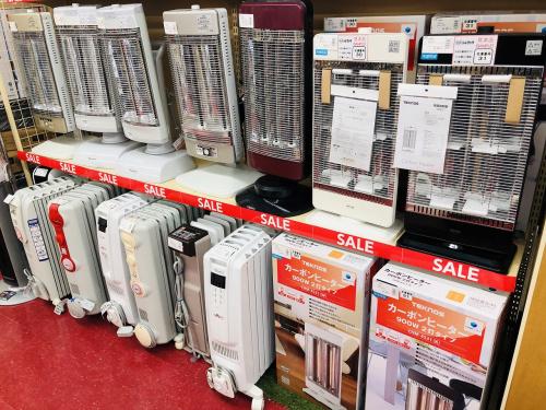 暖房器具の生活家電