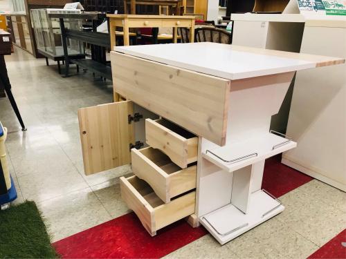 テーブルのバタフライカウンターテーブル