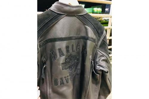バイクのレザージャケット