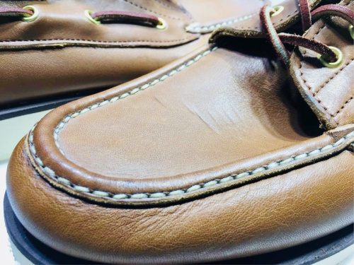 RUSSELL MOCCASINの秦野