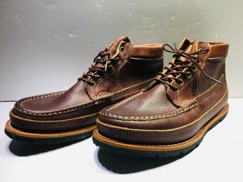 ブーツのRUSSELL MOCCASIN