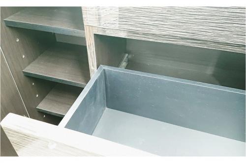 カウンター下収納のシギヤマ家具