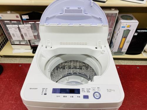 シャープの中古洗濯機